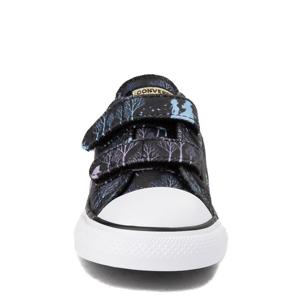 alternate view Converse x Frozen 2 Chuck Taylor All Star 2V Lo Enchanted Forest Sneaker - ToddlerALT4