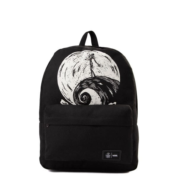 Main view of Vans x The Nightmare Before Christmas Old Skool Jack Skellington Backpack - Black