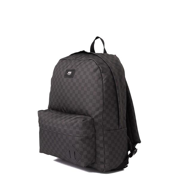 alternate view Vans Old Skool Checkerboard Backpack - Black / CharcoalALT4