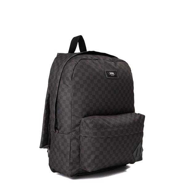 alternate view Vans Old Skool Checkerboard Backpack - Black / CharcoalALT4B