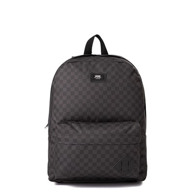 Main view of Vans Old Skool Checkerboard Backpack - Black / Charcoal