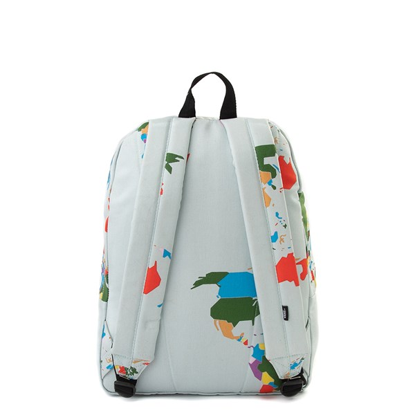 "alternate view Vans Old Skool ""Save Our Planet"" Backpack - White / MultiALT1"