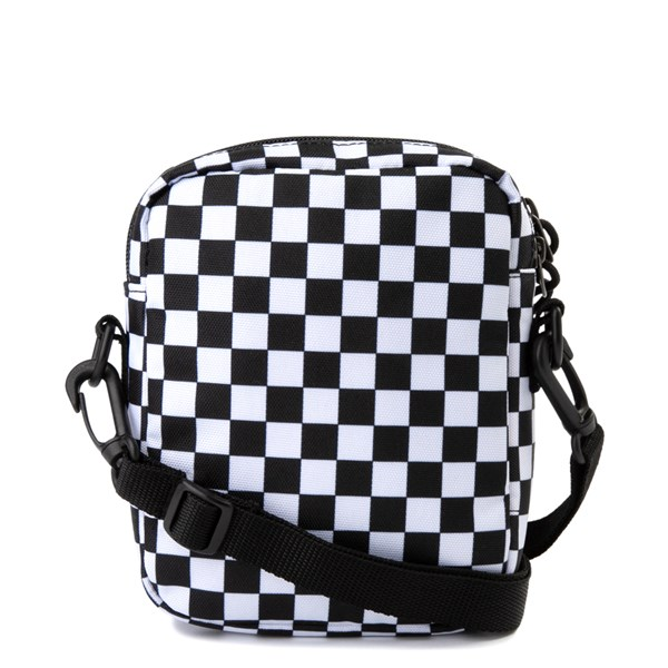 alternate view Vans Bail Checkerboard Shoulder Bag - Black / WhiteALT1