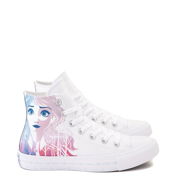 Main view of Converse x Frozen 2 Chuck Taylor All Star Hi Anna & Elsa Sneaker - White