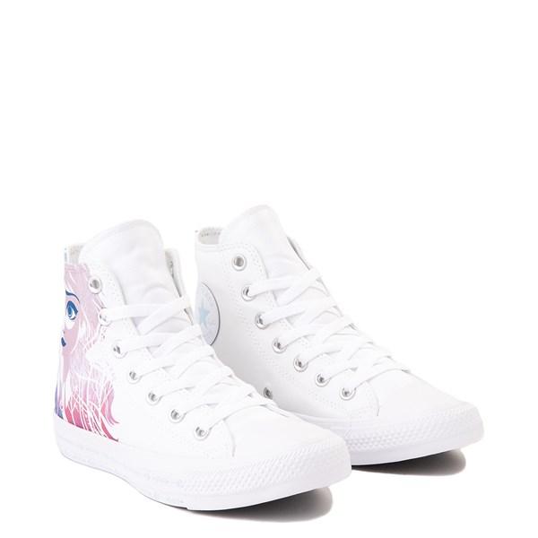 alternate view Converse x Frozen 2 Chuck Taylor All Star Hi Anna & Elsa Sneaker - WhiteALT1D