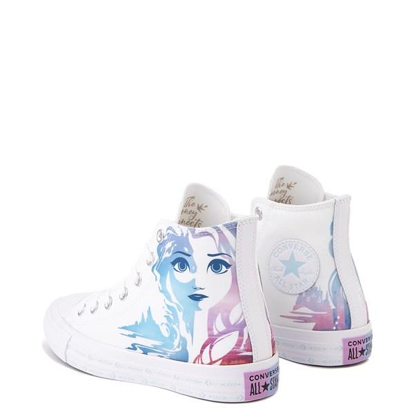 alternate view Converse x Frozen 2 Chuck Taylor All Star Hi Anna & Elsa Sneaker - WhiteALT2