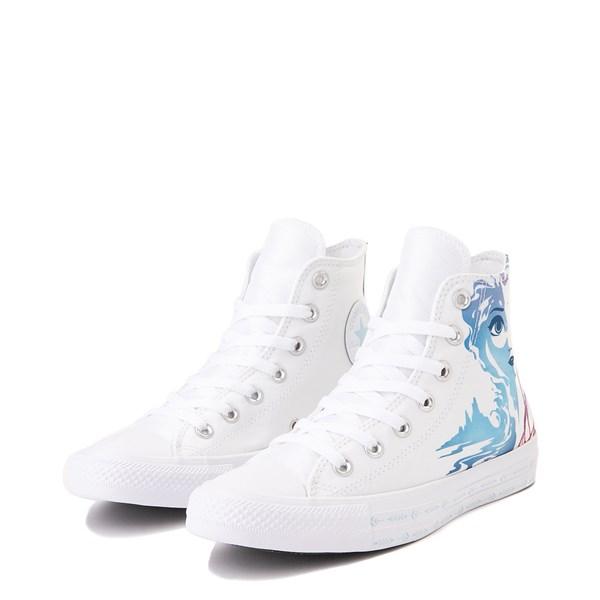 alternate view Converse x Frozen 2 Chuck Taylor All Star Hi Anna & Elsa Sneaker - WhiteALT3