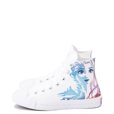 Alternate view of Converse x Frozen 2 Chuck Taylor All Star Hi Anna & Elsa Sneaker - White