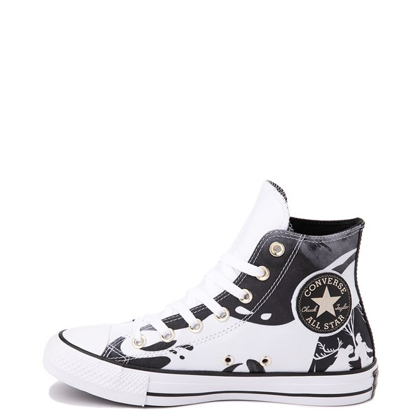 Alternate view of Converse x Frozen 2 Chuck Taylor All Star Hi Nokk Sneaker - White / Black