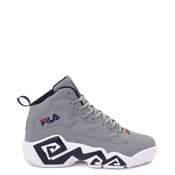 Mens Fila MB Athletic Shoe - Gray / Navy / Red