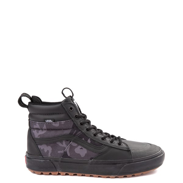 Default view of Vans Sk8 Hi MTE 2.0 DX Skate Shoe - Black / Woodland Camo
