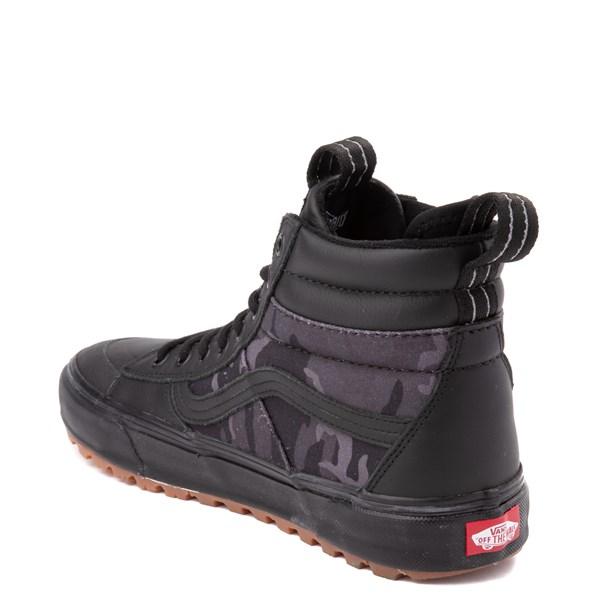 alternate view Vans Sk8 Hi MTE 2.0 DX Skate Shoe - Black / Woodland CamoALT2
