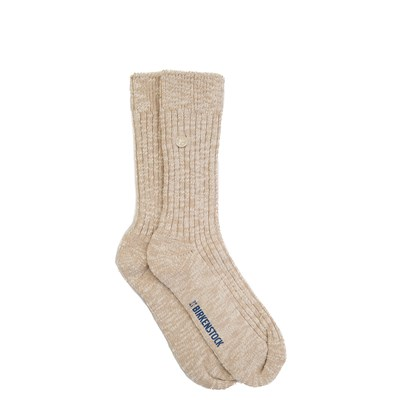 Main view of Womens Birkenstock Slub Crew Socks