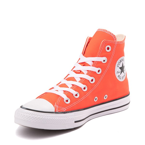 alternate view Converse Chuck Taylor All Star Hi Sneaker - Bright CrimsonALT3