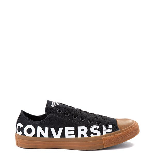 Converse Chuck Taylor All Star Lo Wordmark Sneaker - Black / Gum