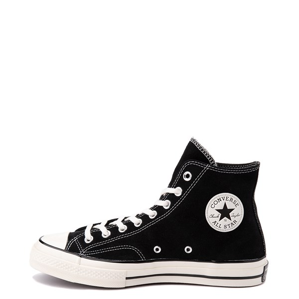 alternate view Converse Chuck 70 Hi Suede Sneaker - BlackALT1