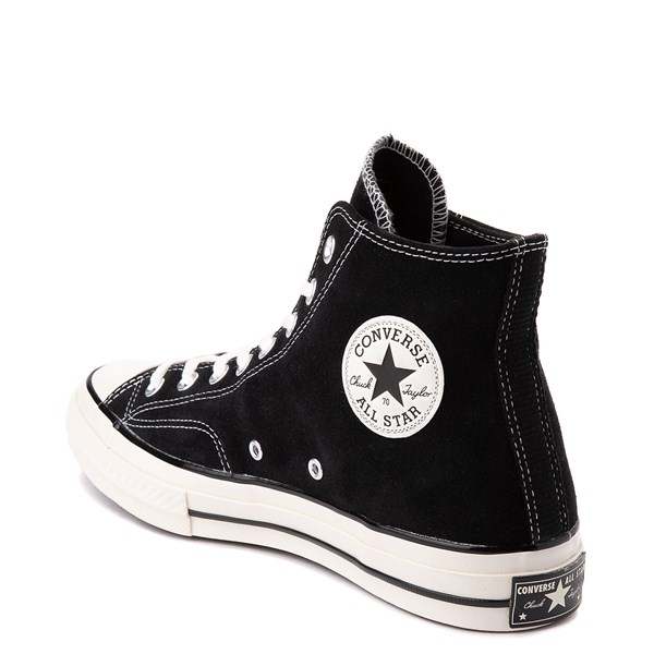 alternate view Converse Chuck 70 Hi Suede Sneaker - BlackALT2