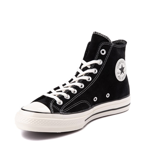 alternate view Converse Chuck 70 Hi Suede Sneaker - BlackALT3