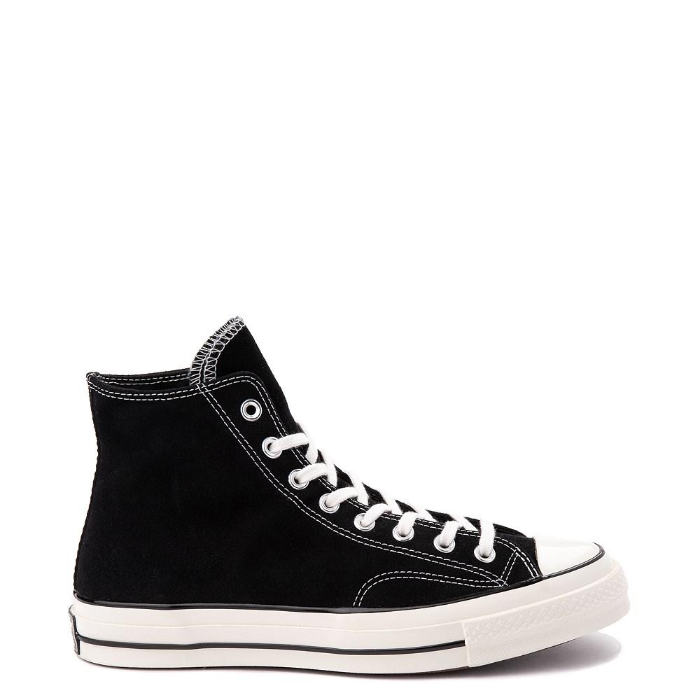 Converse Chuck 70 Hi Suede Sneaker - Black