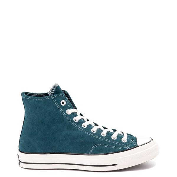 Default view of Converse Chuck 70 Hi Suede Sneaker - Midnight Turquoise