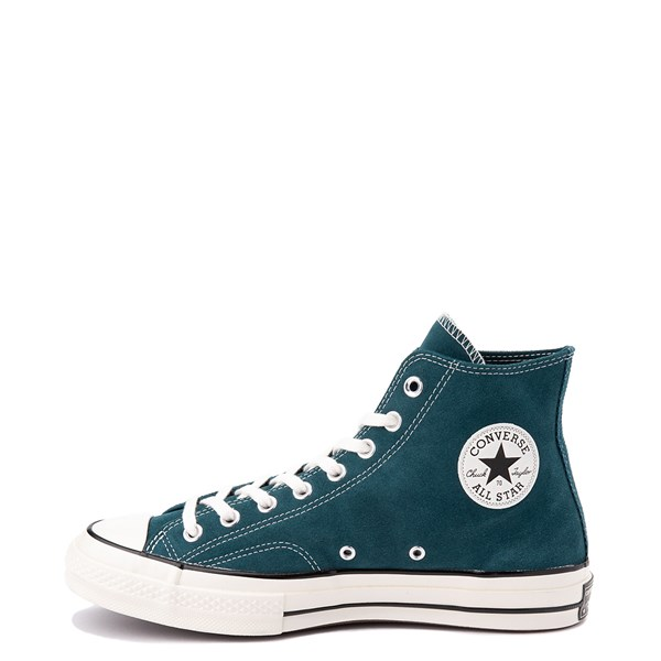 Alternate view of Converse Chuck 70 Hi Suede Sneaker - Midnight Turquoise