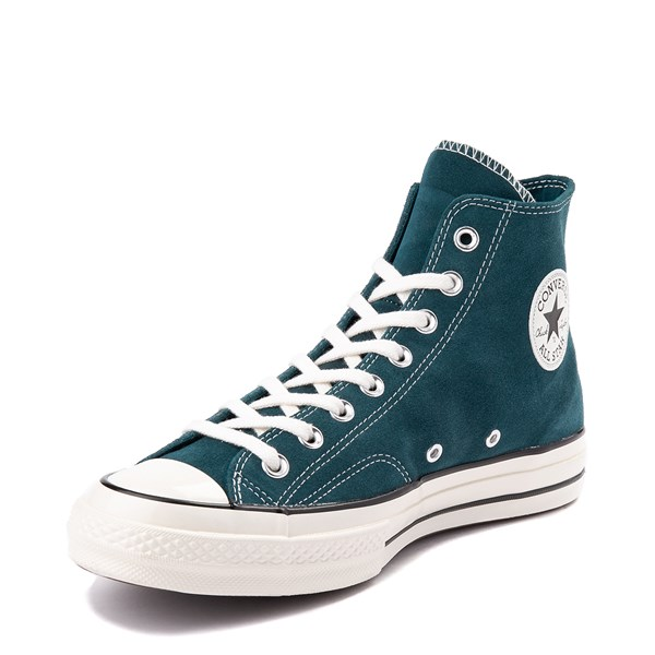 alternate view Converse Chuck 70 Hi Suede Sneaker - Midnight TurquoiseALT3
