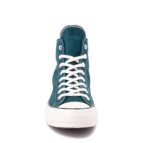 alternate view Converse Chuck 70 Hi Suede Sneaker - Midnight TurquoiseALT4
