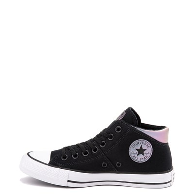 Alternate view of Womens Converse Chuck Taylor All Star Madison Mid Sneaker - Black