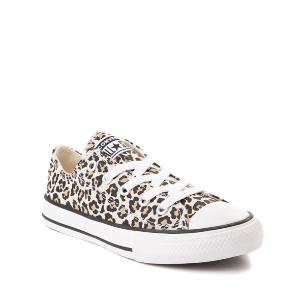 alternate view Converse Chuck Taylor All Star Lo Leopard Sneaker - Little KidALT5