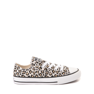 Main view of Converse Chuck Taylor All Star Lo Leopard Sneaker - Little Kid