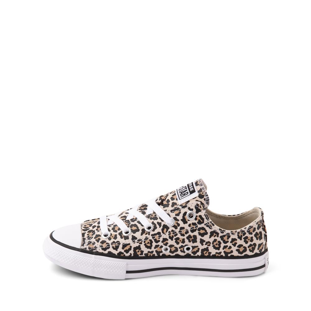 Converse Chuck Taylor All Star Lo Leopard Sneaker - Little Kid