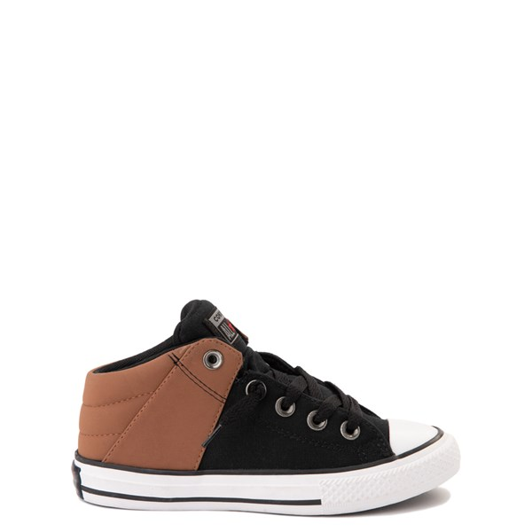 Converse Chuck Taylor All Star Axel Mid Sneaker - Little Kid / Big Kid - Black / Tan