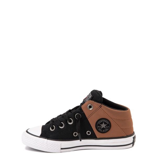 Alternate view of Converse Chuck Taylor All Star Axel Mid Sneaker - Little Kid / Big Kid - Black / Tan