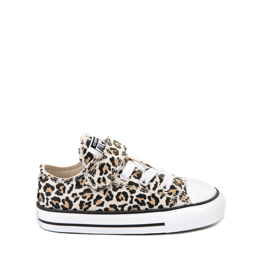 Converse Chuck Taylor All Star 1V Lo Sneaker - Baby / Toddler - Leopard