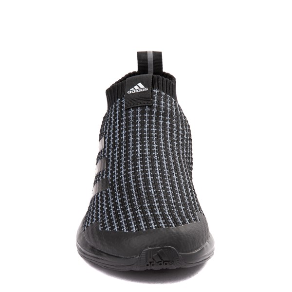 alternate view adidas RapidaRun Laceless Athletic Shoe - Little Kid - Core BlackALT4