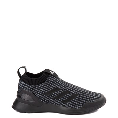 Main view of adidas RapidaRun Laceless Athletic Shoe - Little Kid