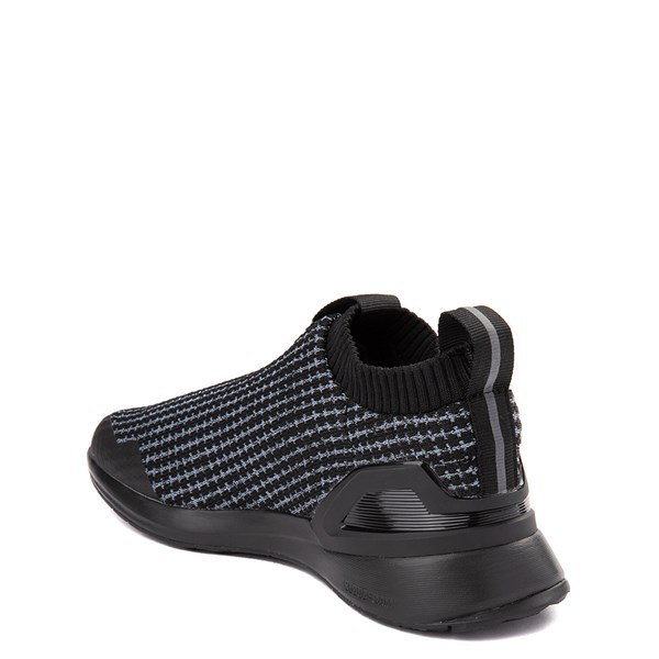 alternate view adidas RapidaRun Laceless Athletic Shoe - Big Kid - Core BlackALT2
