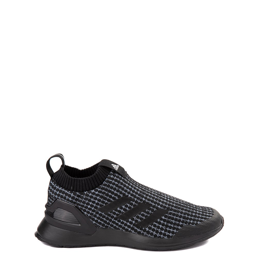 adidas RapidaRun Laceless Athletic Shoe - Big Kid - Core Black