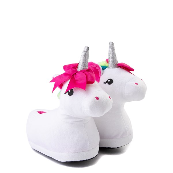 alternate view Unicorn Slippers - Little Kid / Big KidALT1