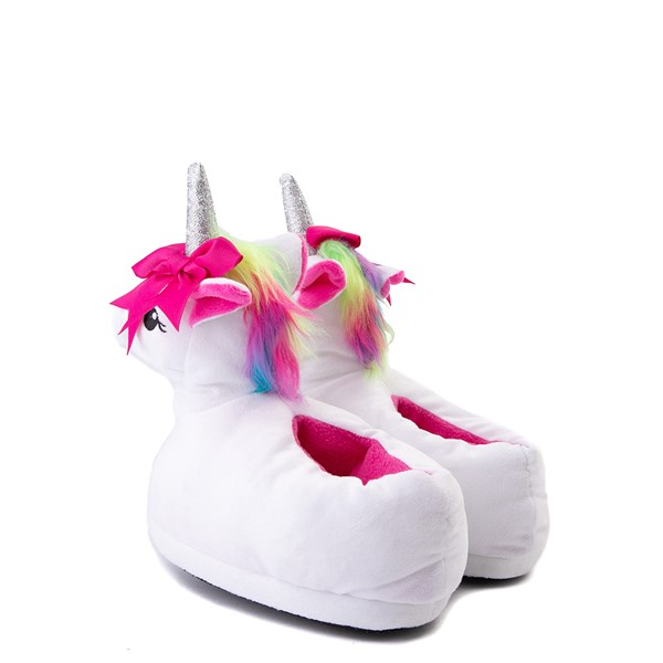 alternate view Unicorn Slippers - Little Kid / Big KidALT2