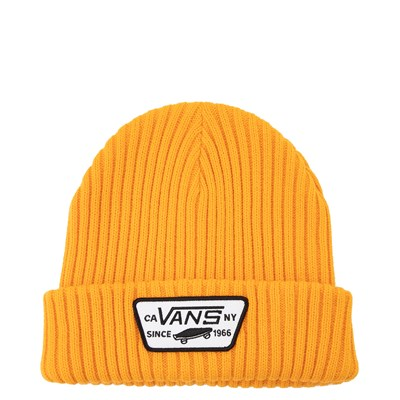 Main view of Vans Full Patch Beanie -Zinnia Yellow