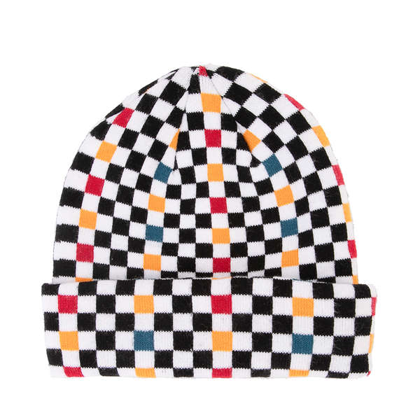 alternate view Vans Checkerboard Beanie - MultiALT1