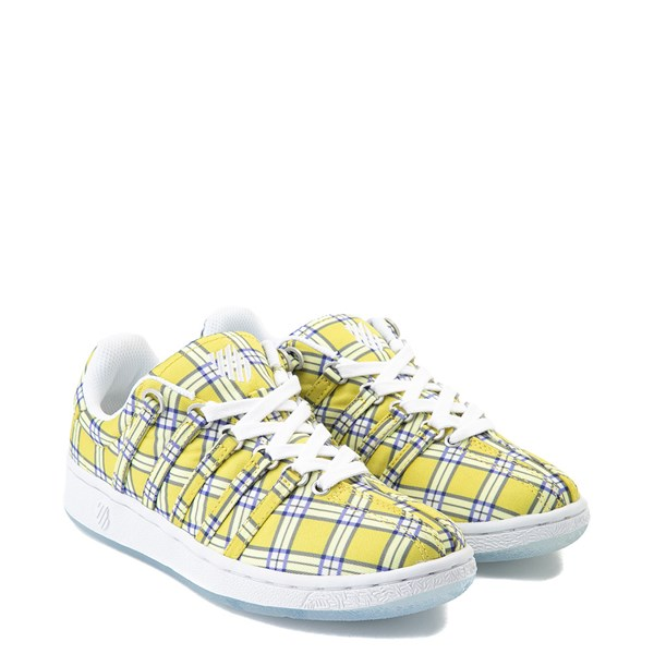 alternate view Womens K-Swiss Classic VN Clueless Athletic Shoe - Yellow / MultiALT1B