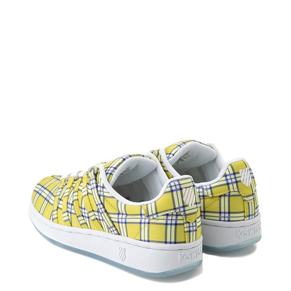 alternate view Womens K-Swiss Classic VN Clueless Athletic Shoe - Yellow / MultiALT2