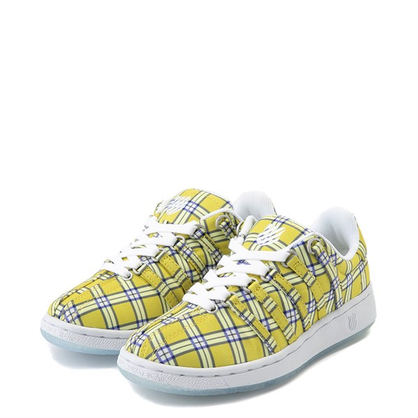 alternate view Womens K-Swiss Classic VN Clueless Athletic Shoe - Yellow / MultiALT3