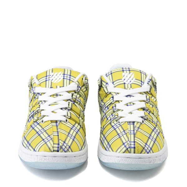 alternate view Womens K-Swiss Classic VN Clueless Athletic Shoe - Yellow / MultiALT4