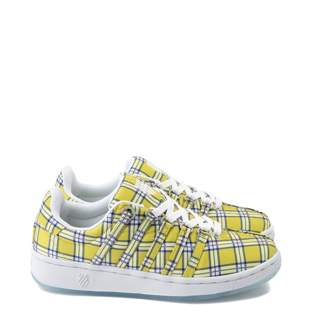 Womens K-Swiss Classic VN Clueless Athletic Shoe - Yellow / Multi