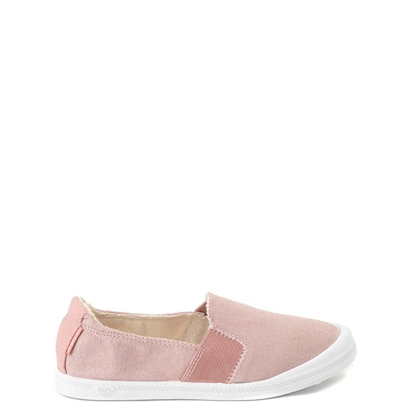 Roxy Palisades Slip On Casual Shoe - Little Kid / Big Kid - Pink