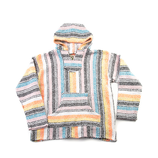 alternate view Womens Baja Poncho - MulticolorALT2