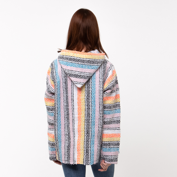 alternate view Womens Baja Poncho - MulticolorALT4